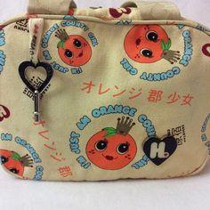 "Fun small handbag. Harajuku Lovers purse. ""I'm just an Orange County girl"". Length=11 inches, width=4.5 inches, height =7 inches, drop=6 inches. Pre-loved. Harajuku Lovers Bags Mini Bags"