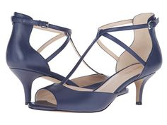 Nine West Gamgee Navy Leather - 6pm.com