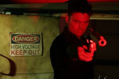 """A  cool picture of Karl Urban (not sure what it's from - """"Red"""" maybe?) just to console myself for the fact that it's *still* not Nov. 17."""
