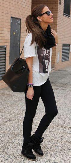 Isabel Marant Sneaker Bekett High-top Suede Noir