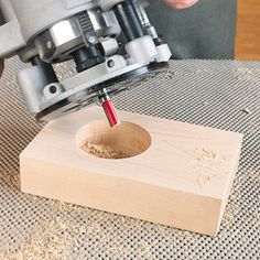 Boring big or odd-size holes just got a whole lot easier using this simple method.