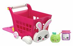 Buy Kindi Kids Rabbit Petkin Shopping Cart and Shopkins at Argos. Thousands of products for same day delivery or fast store collection. Birthday Gifts For Boys, 10 Birthday, Minnie Mouse Toys, Moose Toys, Beanie Boos, Lol Dolls, Monster High Dolls, Tissue Box Covers, Craft Stick Crafts