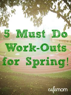 Take your exercise routine outside!