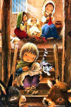 Portal, Fictional Characters, Nativity Sets, Birth, Nativity Scenes, Xmas, Art, Silhouette, Fantasy Characters