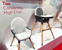 Skip Hop Tuo Convertible High Chair | Top Baby Products for 2017 from the ABC Kids Expo