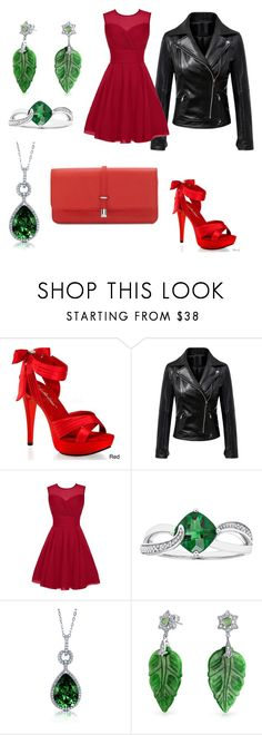 """Sagumcalis"" by regulus-star ❤ liked on Polyvore featuring Pleaser, BERRICLE, Bling Jewelry and Vince Camuto"