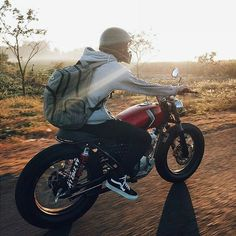 Motorcycle Camping, Cafe Racer Motorcycle, Moto Bike, Motorcycle Design, Bike Design, Bike Style, Moto Style, Riding Gear, Trail Riding