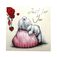 Just to Say Me to You Bear Gift Tag : Me to You Bears Online - The Tatty Teddy Superstore. Love Hug, Love Bear, Cute Love, My Love, Tatty Teddy, Cute Images, Cute Pictures, Teddy Bear Quotes, Watercolor Card