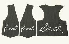 Making a vest... super easy!