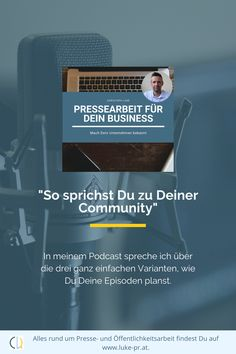 Übung ist alles.  #Podcast #Contentmarketing #Audio #Video Interview, Public Relations, Content Marketing, Audio, Psychics, Things To Do, Inbound Marketing