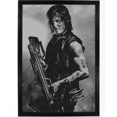 Walking Dead - Daryl Dixon In Points Poster