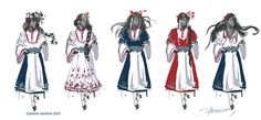 national costumes Bulgaria