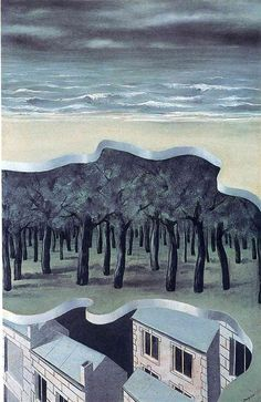 Popular panorama - Rene Magritte, 1928 Oil on canvas - WikiPaintings.org