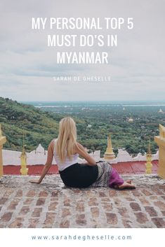A lot of people ask me about what places or activities to include on a trip to Myanmar. Here is my personal top 5 of must DO's in Myanmar.