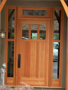 Timber Frame Exterior Doors | New Energy Works