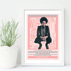 Nina Simone- Mixed media collage, quote, music, soul, jazz, interior design, illustration, vintage, print, home decor, poster, elegant- by SoulArtCorner on Etsy https://www.etsy.com/uk/listing/478494145/nina-simone-mixed-media-collage-quote