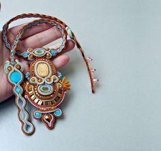 Сутажные ожерелья Soutache by panka