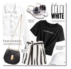 Black & White by anne-irene on Polyvore featuring Chloé and Michael Kors