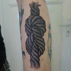rope knot #tattoo