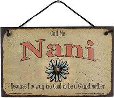Nanny/'s Kitchen 8x10 Sign House Home Grandma Grandmother Warm Cookies Milk Love