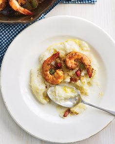 South Carolina Shrimp and Grits...100% the food I will miss most when we leave the south.