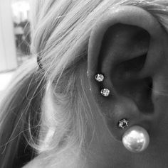double mid cartilage.. in loveee