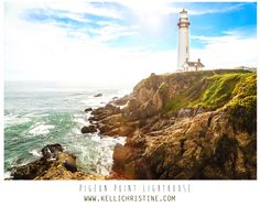 Pigeon Point LightHouse in the Bay Area  taken with a Canon 5D Mark iii  To schedule a photo shoot or purchase a print please contact me at  www.kellichristine.com  www.facebook.com/kellichristinephotography