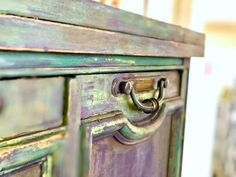No Sanding Necessary Layered Paint Look Using Chalk Paint By Annie Sloan Refurbished Furniture, Shabby Chic Furniture, Furniture Makeover, Furniture Decor, Dresser Makeovers, Country Furniture, Upcycled Furniture, Furniture Design, Furniture Painting Techniques