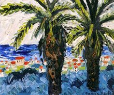 Francis Picabia, Juan-Les-Pins. on ArtStack #francis-picabia #art