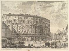Giovanni Battista Piranesi | The Theatre of Marcellus (Teatro di Marcello) | The Met