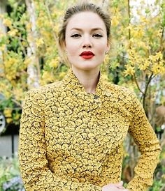 Holliday Grainger by Angelo Pennetta for Vogue US (2012)
