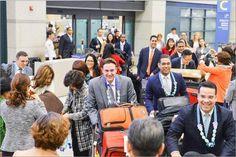 200여명의 외국인들 인천공항 입국 하나님의교회(안상홍증인회) 해외성도방문단