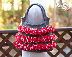 Sassy Ruffle Bag - Free pattern from KT