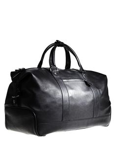 Very very nice real leather weekender for $229! Phillip Sparks design at Danier