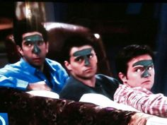 Our Epoch Natural mud mask being worn on Friends TV show