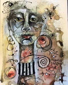 Deb Weiers - My Love of Faces