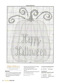 Halloween pumpkin cross stitch  Gallery.ru / Фото #26 - 793 - Yra3raza