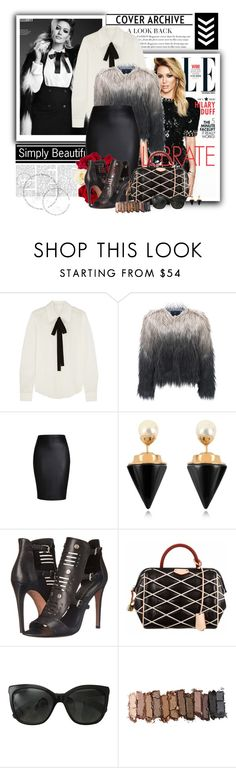 """HD*"" by cano315 on Polyvore featuring moda, Chloé, Unreal Fur, Vita Fede, Rebecca Minkoff, Louis Vuitton, Chanel y Urban Decay"