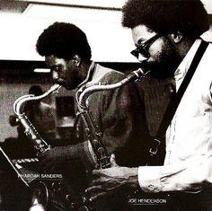 "behardfreebop: ""Pharoah Sanders and Joe Henderson. Jazz Artists, Jazz Musicians, Music Artists, Cool Jazz, World Music, Music Is Life, Pharoah Sanders, Joe Henderson, Charles Mingus"