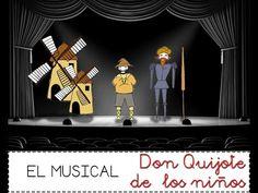 Don Quijote de los Niños-EL CÓMIC MUSICAL - YouTube