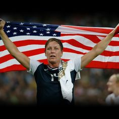 Abby Wombach ready for Womens World Cup Soccer 2015  #USWNT #WWC2015