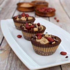 Schokoladige Erdnussbutter Pralinen   vegan