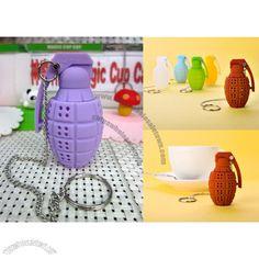Silicone Grenade Tea Infuser Factory Direct #548501122