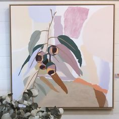 New paintings in my exhibition 'Sense Of Place' at on now. If you're visiting Byron, Newrybar is just a 15 minute drive… Plant Art, Australian Art, Wildlife Art, Collage Art, Creative Art, New Art, Illustration Art, Illustrations, Art Projects