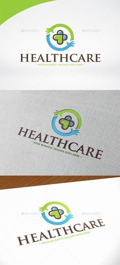 Healthcare Logo Template by BossTwinsMusic - Three color version: color, greyscale and single color.- The logo is 100% resizable.- You can change text and colors very easy u