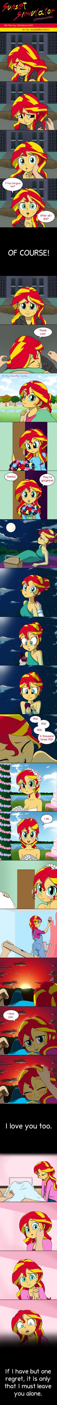 Sunset Shimmer Simulator by doubleWbrothers.deviantart.com on @DeviantArt. Well, shit now I'm depressed.