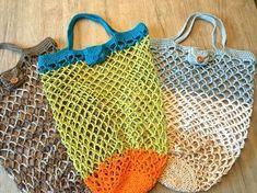 **VERSANDFERTIG!** Ein Einkauf Mug Rug Patterns, Crochet Patterns, Boho Gypsy, Hippie Boho, Crochet Handbags, Crochet Bags, Filets, Loom Knitting, Digital Pattern