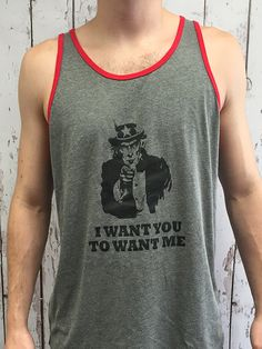 I Want You To Want Me - Unisex Jersey Tank