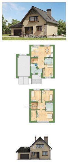 Ev villa projesi 160-005-L | House Expert