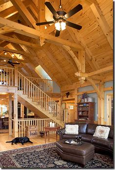 Timber frame homes on pinterest timber frames timber for House material packages